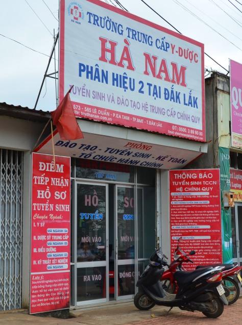 Văn phòng tuyển sinh của Trung cấp Y Dược Hà Nam tại Đắk Lắk