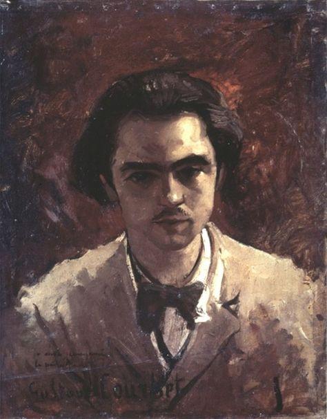 Thi sĩ Paul Verlaine. Tranh của Courbet.
