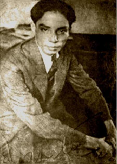 Thi sĩ Thế Lữ thời trẻ.