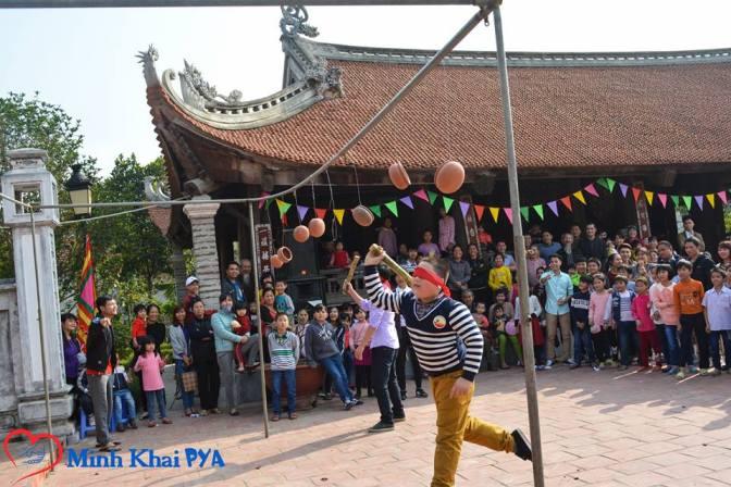 Vui xuân Bính Thân 2016 – tại xã Minh Khai, Hoài Đức, Hà Nội