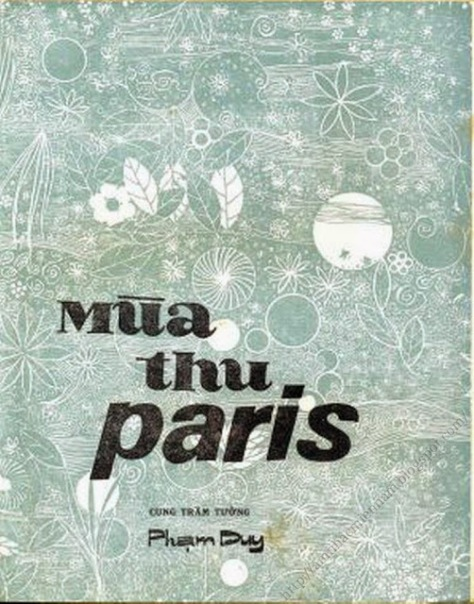 cungtramtuong_Mùa Thu Paris