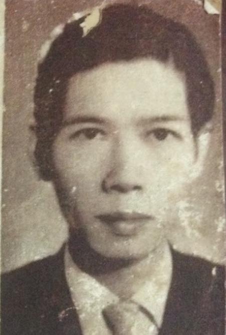 Thi sĩ Đinh Hùng.
