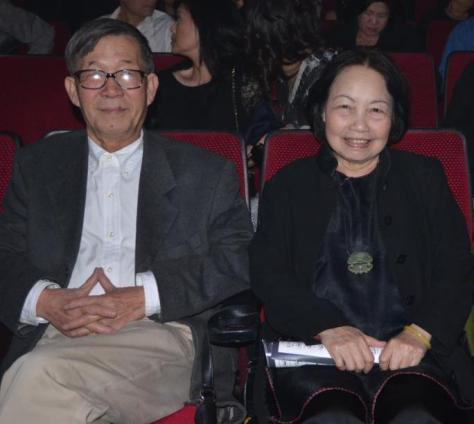 Thi sĩ Trần Dạ Từ và Nhà văn Nhã Ca.