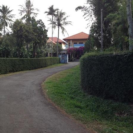 2/ Ảnh con đường dẫn vào phòng tiếp khách của Tu viện NVHB _ Bmt