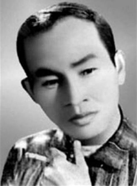 Thi sĩ Kiên Giang thời trẻ.