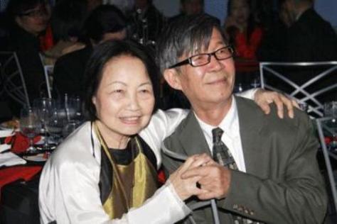 Vợ chồng Nhã Ca và Trần Dạ Từ.