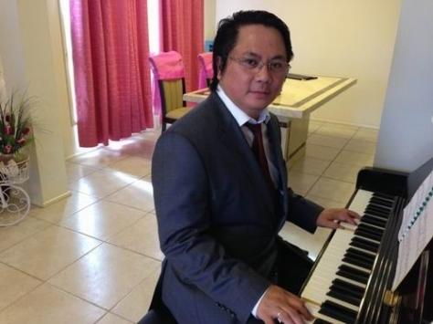 Nhạc sĩ  Hoàng Thanh Tâm.