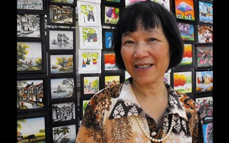 Nữ văn sĩ Đoàn Lê.