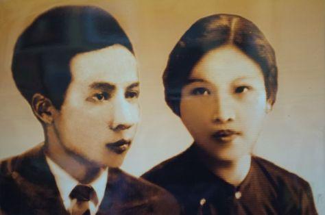 Nhạc sĩ Nguyễn Đình Phúc và hiền thê Nguyễn Thị Bảo thời trẻ.