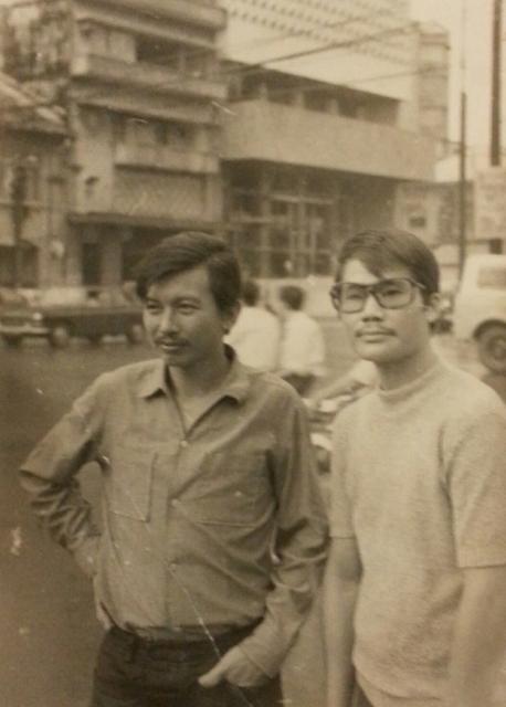 NS Trân Trịnh và NS Nhật Ngân thời trẻ ở Sài Gòn.