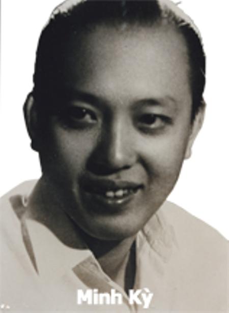 Nhạc sĩ Minh Kỳ.