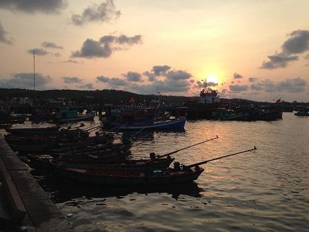 1/ Ảnh bến cảng Quốc tế An Thới Phú Quốc