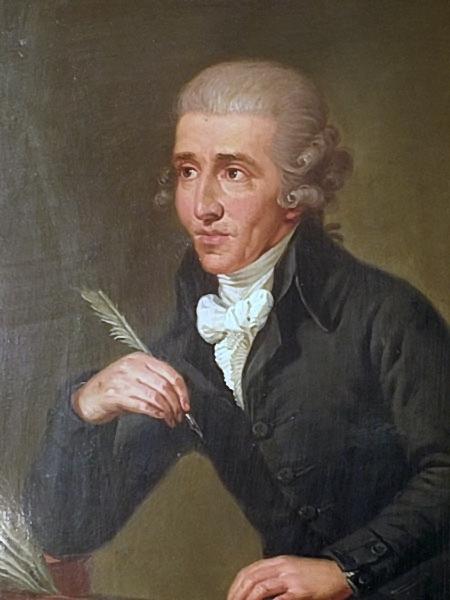 Ảnh chân dung nhạc sĩ Joseph Haydn do Ludwig Guttenbrunn thực hiện vào năm 1770.