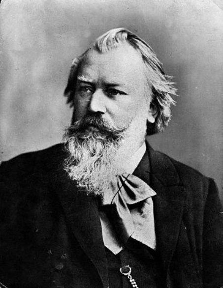 Chân dung nhạc sĩ Johannes Brahms.
