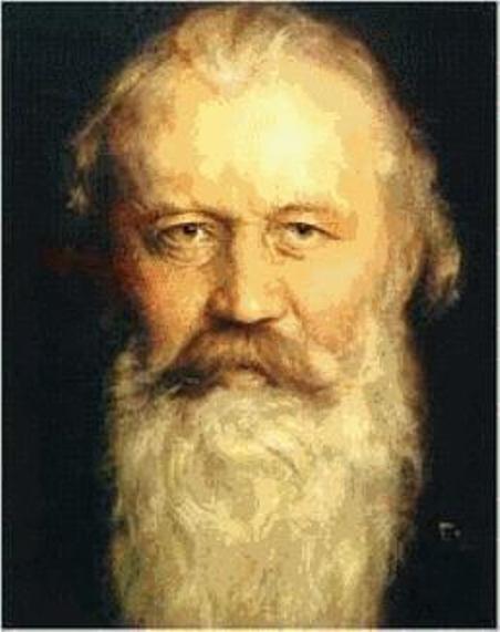 Nhạc sĩ Johannes Brahms (1833-1897).