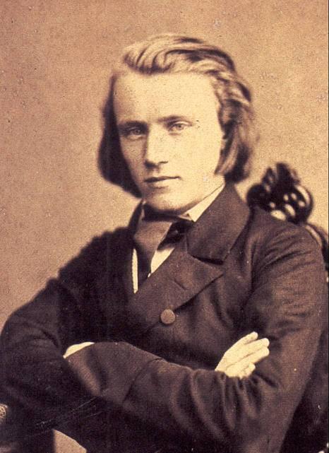 Nhạc sĩ Brahms năm 1853.