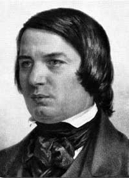 Nhạc sĩ Robert Schumann.