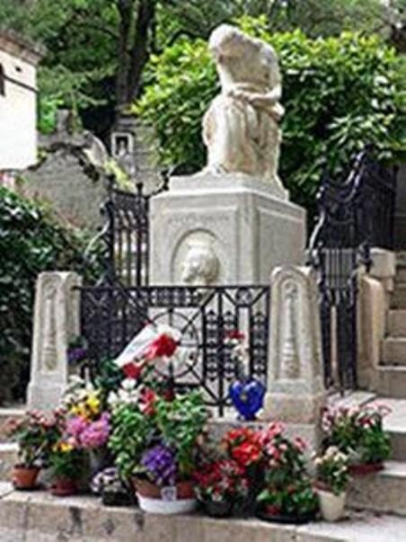 Mộ phần của Chopin ở Paris.