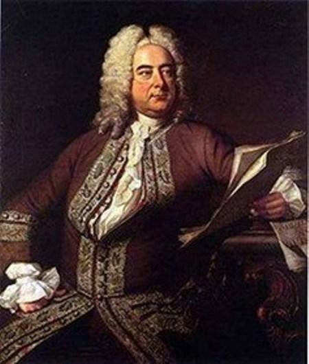 Nhạc sĩ George Frideric Handel (1685-1759).