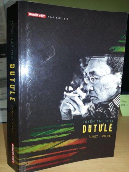 dutule_Bìa 'Tuyển Tập Thơ Du Tử Lê (1957-2013)' (Hình Ngọc Lan-Người Việt)