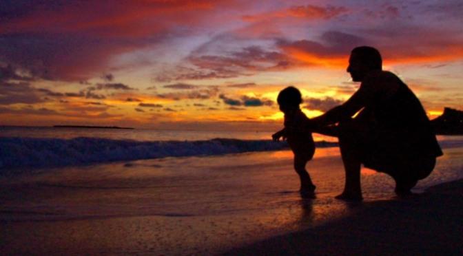 Cha và con