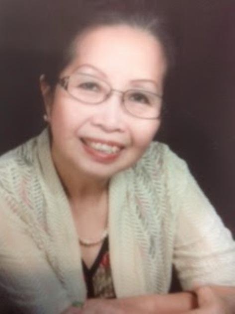 Bà Vũ Thị Thảo, hiền thê của thi sĩ Mai Trung Tỉnh.