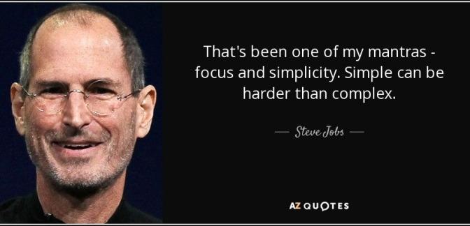 Tập trung và giản dị
