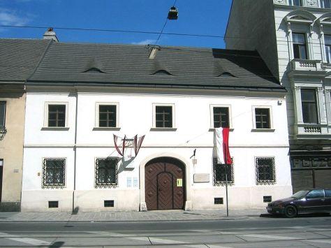 Ngôi nhà nơi Schubert được sinh ra, ngày nay là Nussdorfer Strasse 54.
