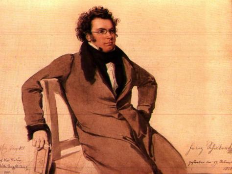 Tranh chân dung của Franz Peter Schubert do Wilhelm August Rieder vẽ năm 1825.