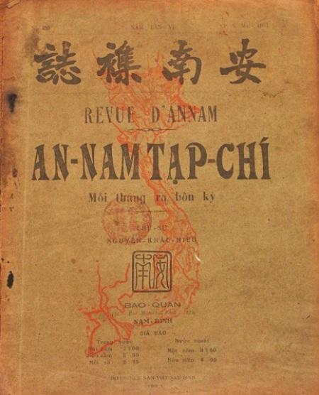 An Nam tạp chí xuất bản năm 1931.