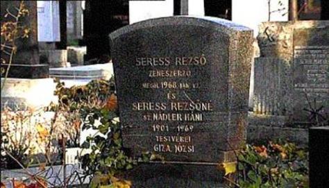 Mộ của nhạc sĩ Rezco Seress.