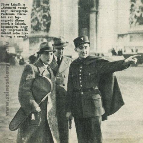 Thi sĩ Laszlo Javor ở Paris.