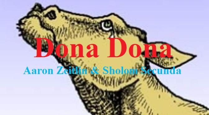 """Tân Nhạc VN – Nhạc Ngoại Quốc Lời Việt – Dân Ca Dân Nhạc – """"Tiếc Thương"""" (""""Dona Dona"""") – Aaron Zeitlin & Sholom Secunda"""