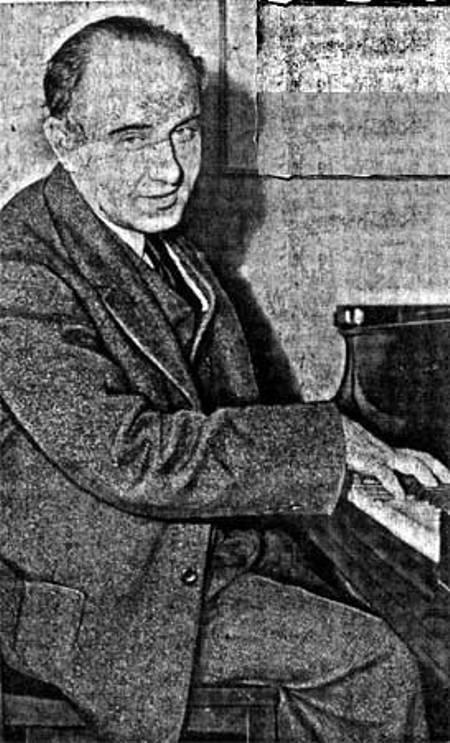 Nhạc sĩ Sholom Secunda.