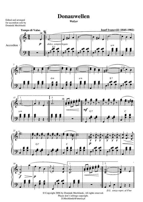 For Accordion (Mechlinski).
