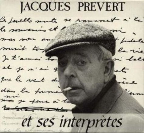 Thi sĩ Jacques Prévert (1900–1977).