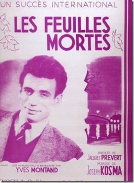 Yves Montand (1921-1991).