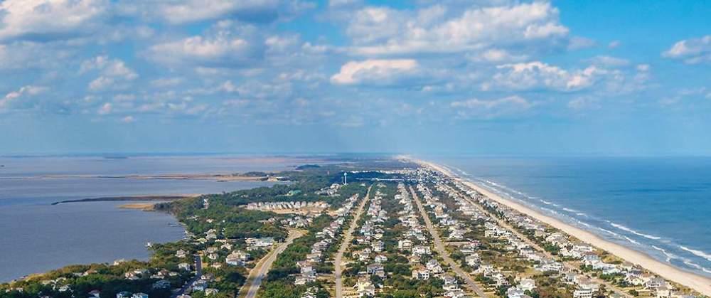Vùng biển Outer Banks.