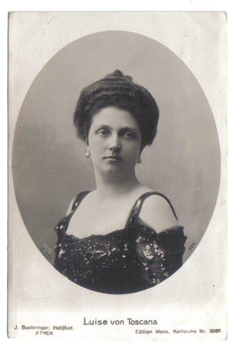 Nữ Công Tước Luise of Tuscany.
