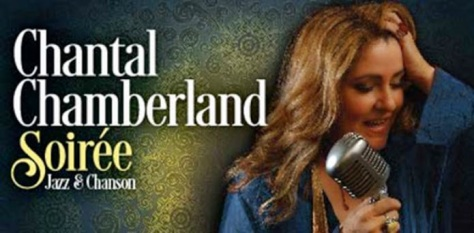 Ca sĩ Chantal Chamberland.
