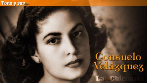 Nhạc sĩ Consuelo Velazquez thời trẻ.