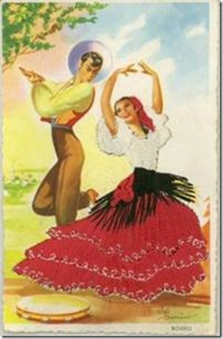 Thể điệu Bolero của Tây-ban-nha.
