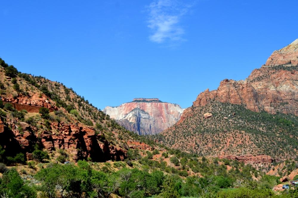 Horse Ranch Mountain. Khu vực Zion Canyon.