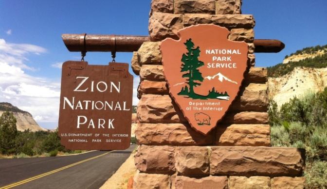 """ẢNH SINH HOẠT HẰNG NGÀY – Từ Đông sang Tây – Công Viên Quốc Gia """"Zion National Park"""""""