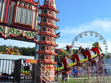 The Oriental Dragon ride.