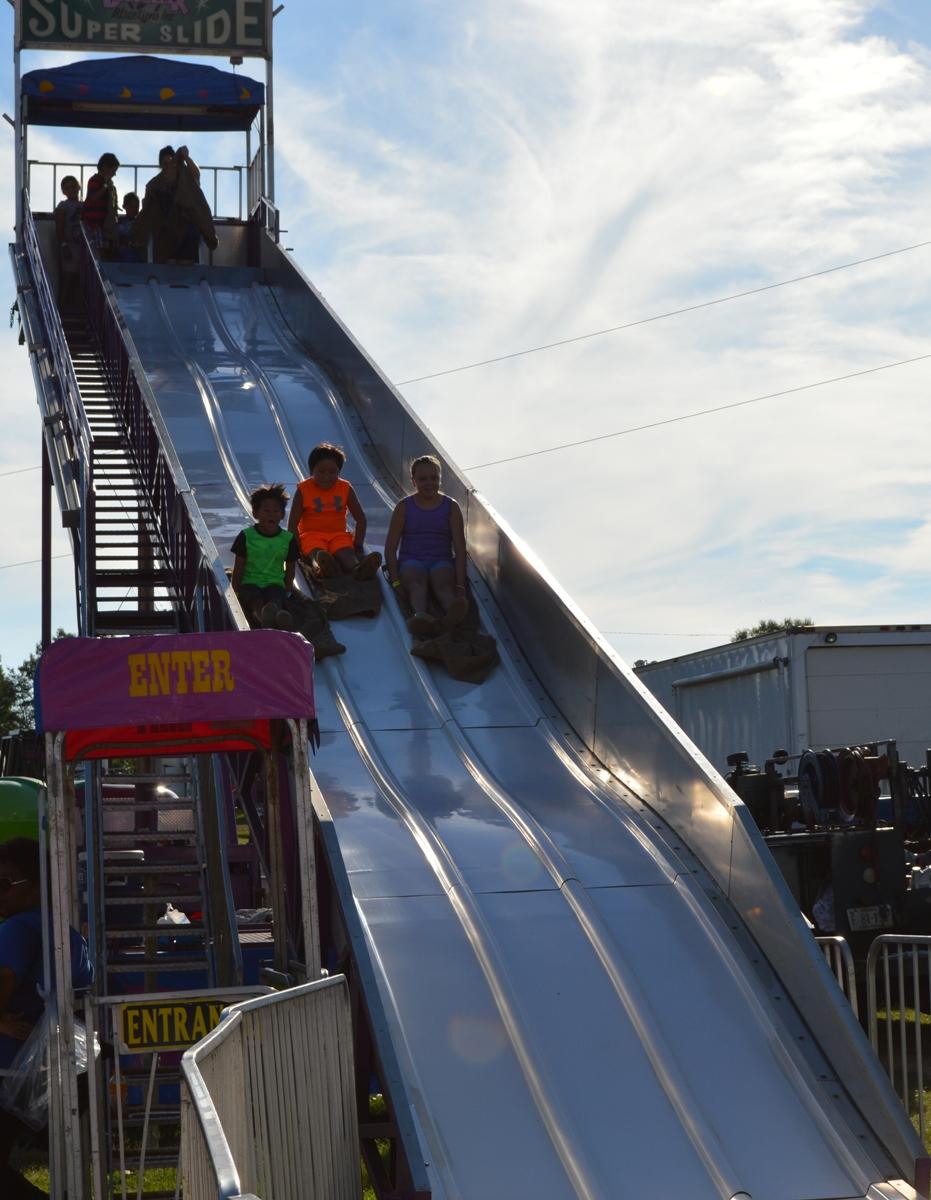 The Slide ride.