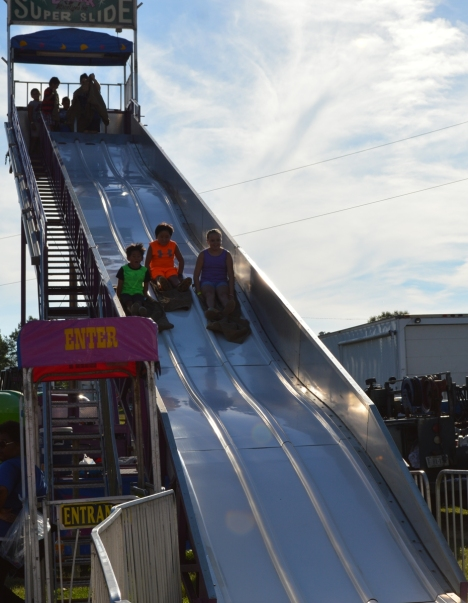 The Slide ride.