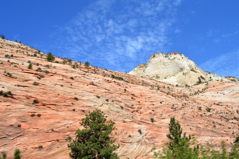 Nhiều lớp đá cát Navajo.