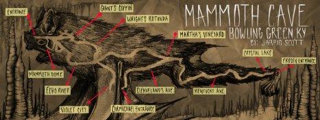 Bản đồ hệ thống hang động.
