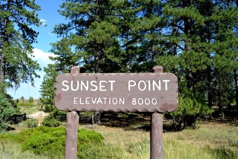 Khu vực Sunset Point.